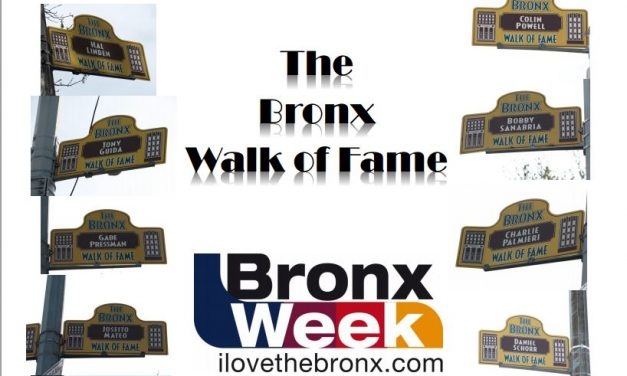 Bronx Walk of Fame Inductees